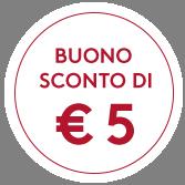 Buono di € 5